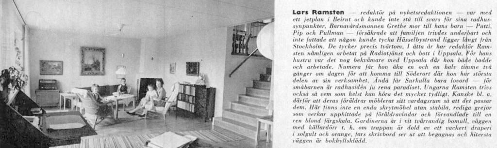 Hemma hos Lars Ramsten