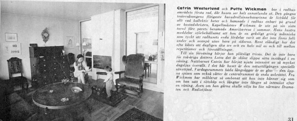 Hemma hos Putte Wickman på Måbärsstigen 22